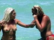 Nude Blond Beach Babes