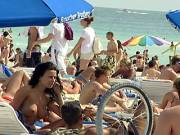 Superb Nude Beach Breasts